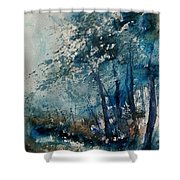 Watercolor  220907 Shower Curtain