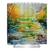 Watercolor  230507 Shower Curtain