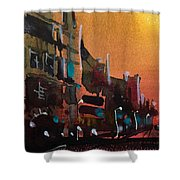 Watercolor-235 Shower Curtain
