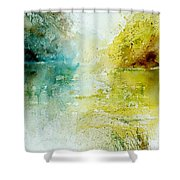 Watercolor 24465 Shower Curtain
