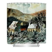 Watercolor  260107 Shower Curtain