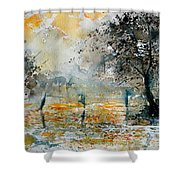 Watercolor  261006 Shower Curtain