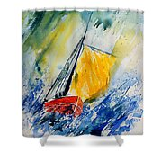 Watercolor 280308 Shower Curtain