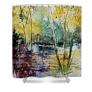 Watercolor 280809 Shower Curtain