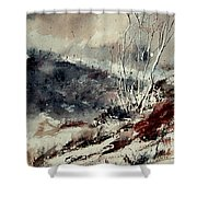 Watercolor  281207 Shower Curtain