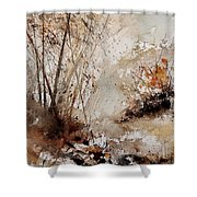 Watercolor  290808 Shower Curtain