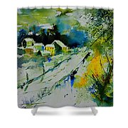 Watercolor 309562 Shower Curtain