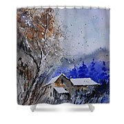 Watercolor 45512113 Shower Curtain
