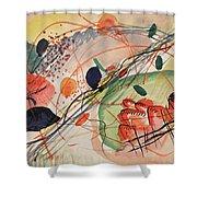 Watercolor 6 Wassily Kandinsky, 1911 Shower Curtain