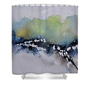 Watercolor 615032 Shower Curtain