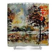 Watercolor 900152 Shower Curtain