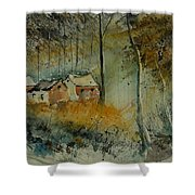 Watercolor  900170 Shower Curtain