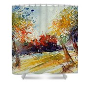 Watercolor 902010 Shower Curtain