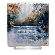 Watercolor 902021 Shower Curtain