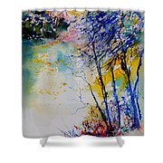 Watercolor 902081 Shower Curtain