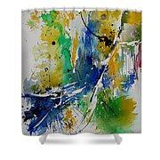 Watercolor  902180 Shower Curtain