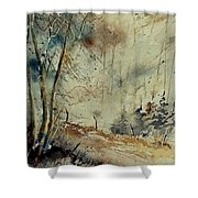 Watercolor  902190 Shower Curtain