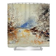 Watercolor 903002 Shower Curtain