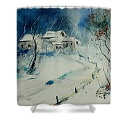 Watercolor 905001 Shower Curtain