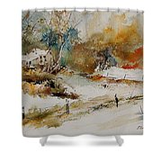 Watercolor 905061 Shower Curtain