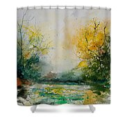 Watercolor 905081 Shower Curtain