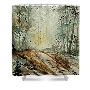 Watercolor  907013 Shower Curtain