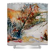 Watercolor 908002 Shower Curtain