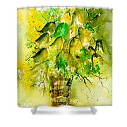 Watercolor 90801 Shower Curtain