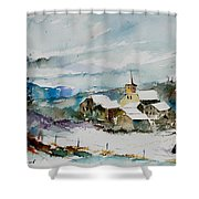 Watercolor  908011 Shower Curtain