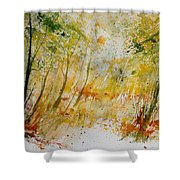 Watercolor  908012 Shower Curtain