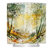 Watercolor  908021 Shower Curtain