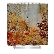 Watercolor  908031 Shower Curtain