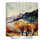 Watercolor  908041 Shower Curtain