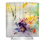 Watercolor  908090 Shower Curtain