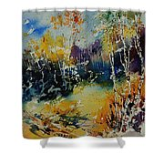 Watercolor  909052 Shower Curtain