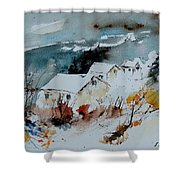 Watercolor  9090723 Shower Curtain