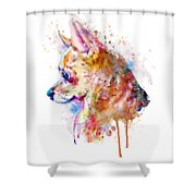 Watercolor Chihuahua  Shower Curtain