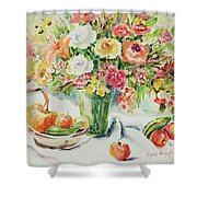 Watercolor Series 11 Shower Curtain