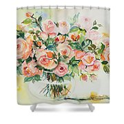 Watercolor Series 13 Shower Curtain