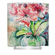 Watercolor Series 139 Shower Curtain