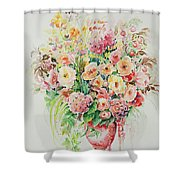 Watercolor Series 14 Shower Curtain