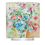 Watercolor Series 140 Shower Curtain