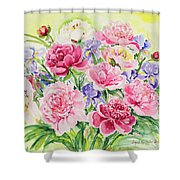 Watercolor Series 153 Shower Curtain