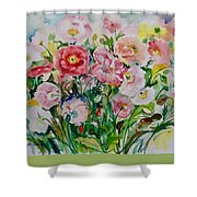 Watercolor Series No. 258 Shower Curtain