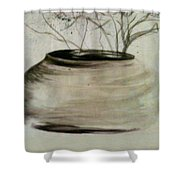 Watercolor Study Shower Curtain