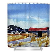 Watercolor3557 Shower Curtain