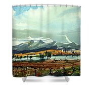 Watercolor3574 Shower Curtain