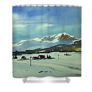Watercolor3597 Shower Curtain