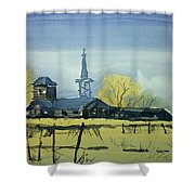 Watercolor3607 Shower Curtain