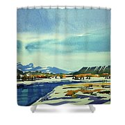 Watercolor3798 Shower Curtain